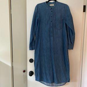 MADEWELL Chambray Tunic - Size Medium